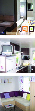 Locations mobil-home type chalet