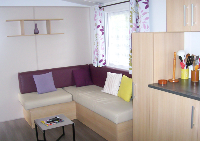 Mobil-home type chalet